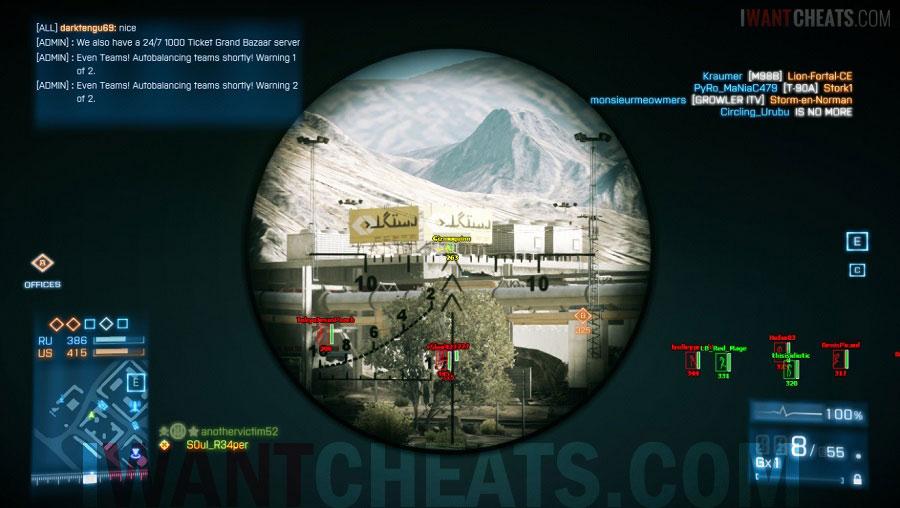 Undetected Battlefield 3 Hacks   Free ESP Cheats   BF3