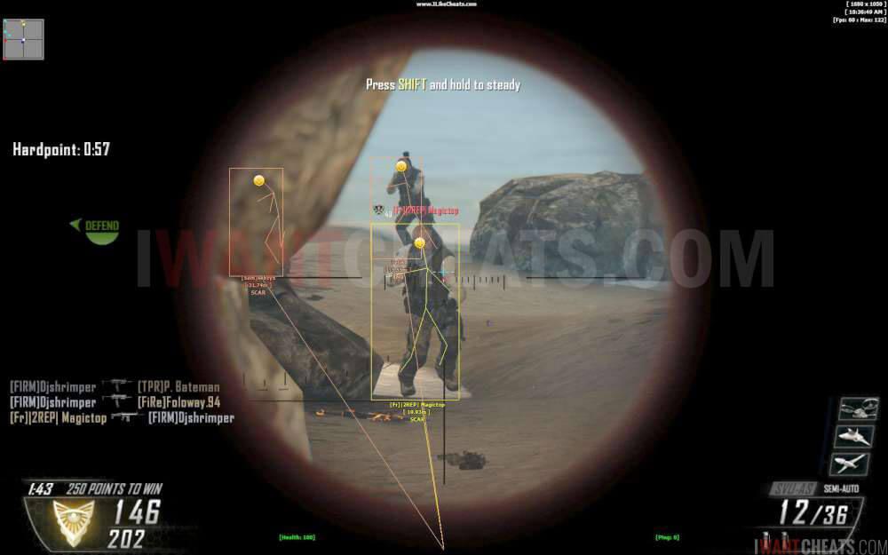 Call Of Duty Black Ops 2 Hacks Cheats And Aimbots Codbo2