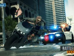 battlefield hardline motorcycle