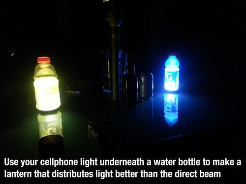 cell phone light