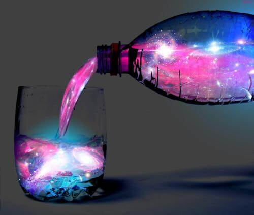 make drinks glow