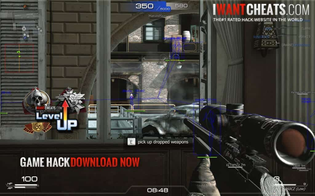 soldier front 2 cheat