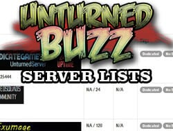 Unturned Servers, Forums, Tips and Tricks