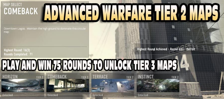 Exo Tier 2 Maps