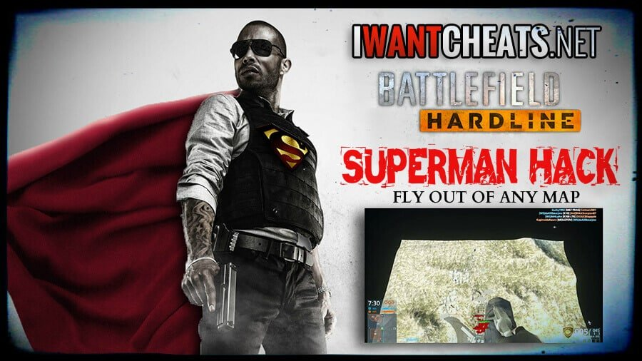 battlefield hardline superman fly hack