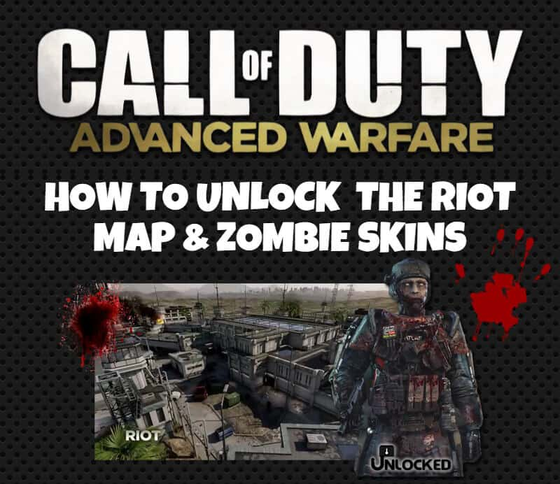 Unlock Riot Map and Zombie Skins