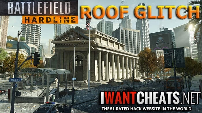 hardline bank job roof glitch