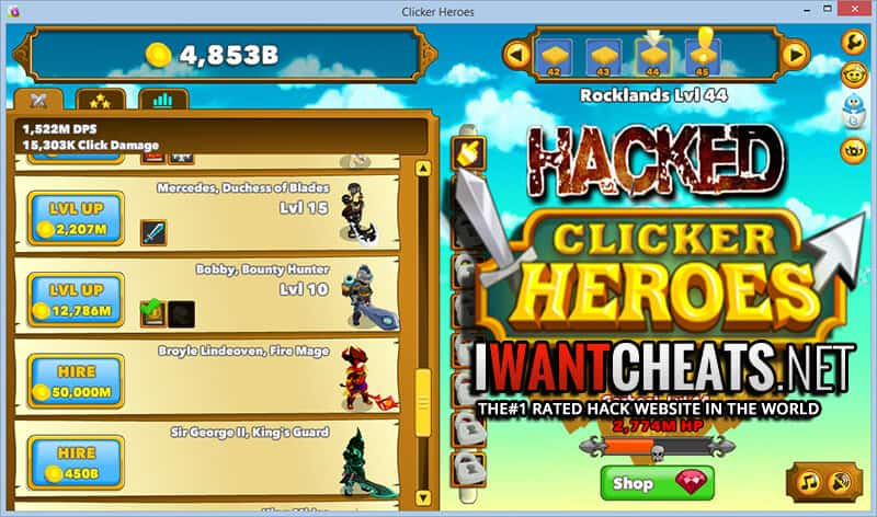 Clicker Heroes Hacks & Cheats - IWantCheats net