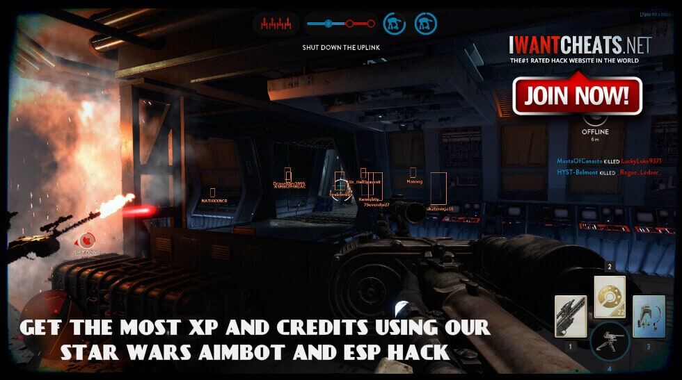 star wars game hack