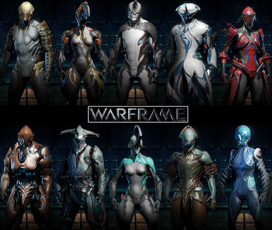 warframe characters
