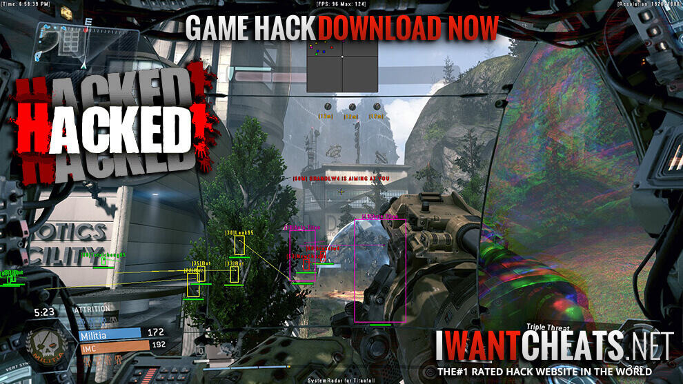 Titanfall 2 Hack | Aimbot Cheat | ESP Wallhack TF2 - IWantCheats net