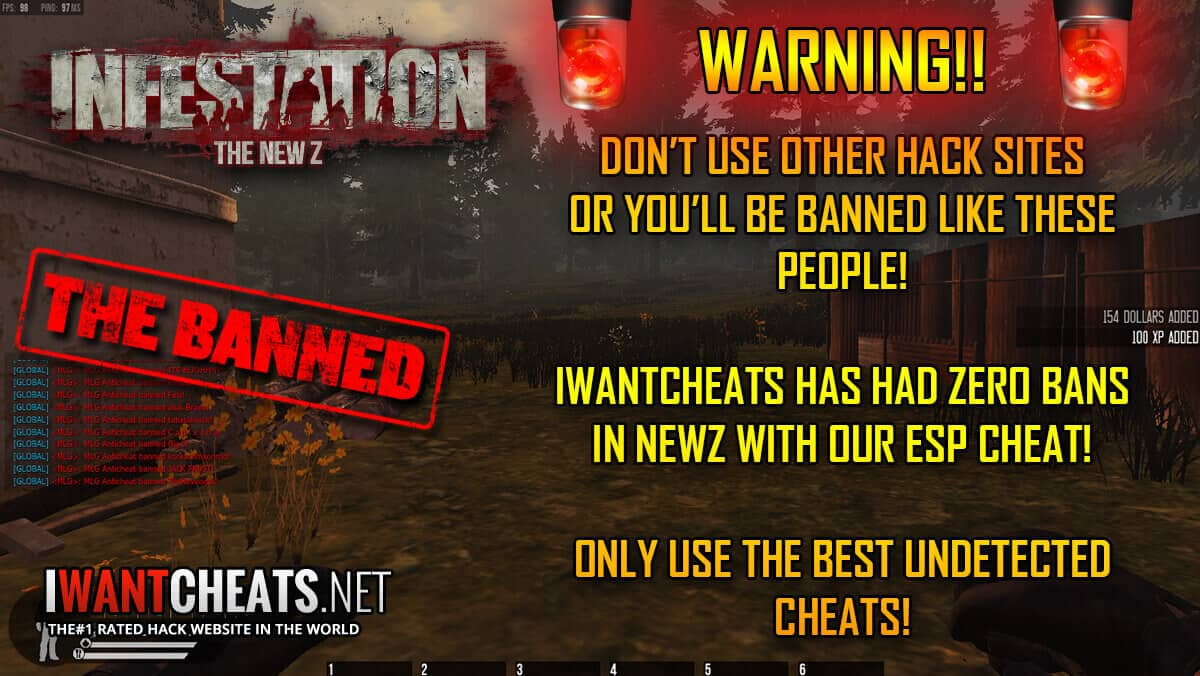 Infestation NewZ Hack | ESP | MultiHack | Wallhack Cheats