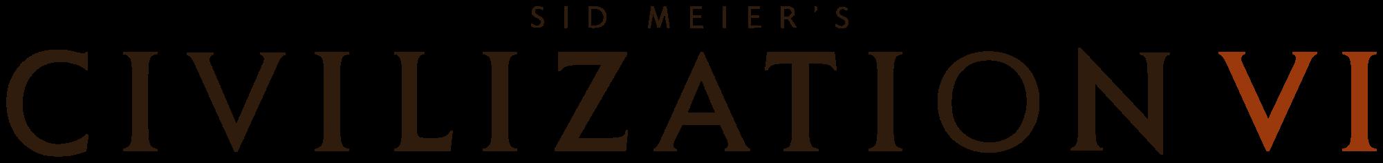Civilization VI logo png