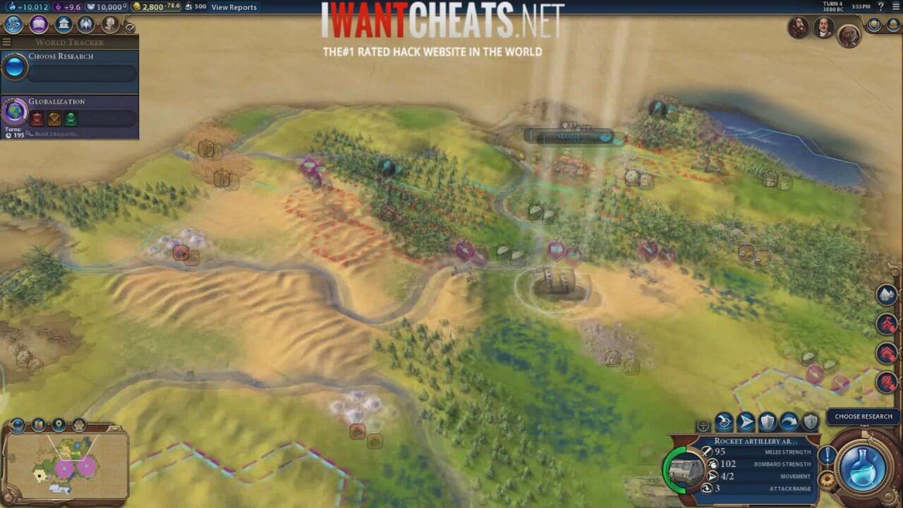 Civilization VI Hacks | Trainer Cheats | Unlimited Gold (CIV VI) -  IWantCheats net