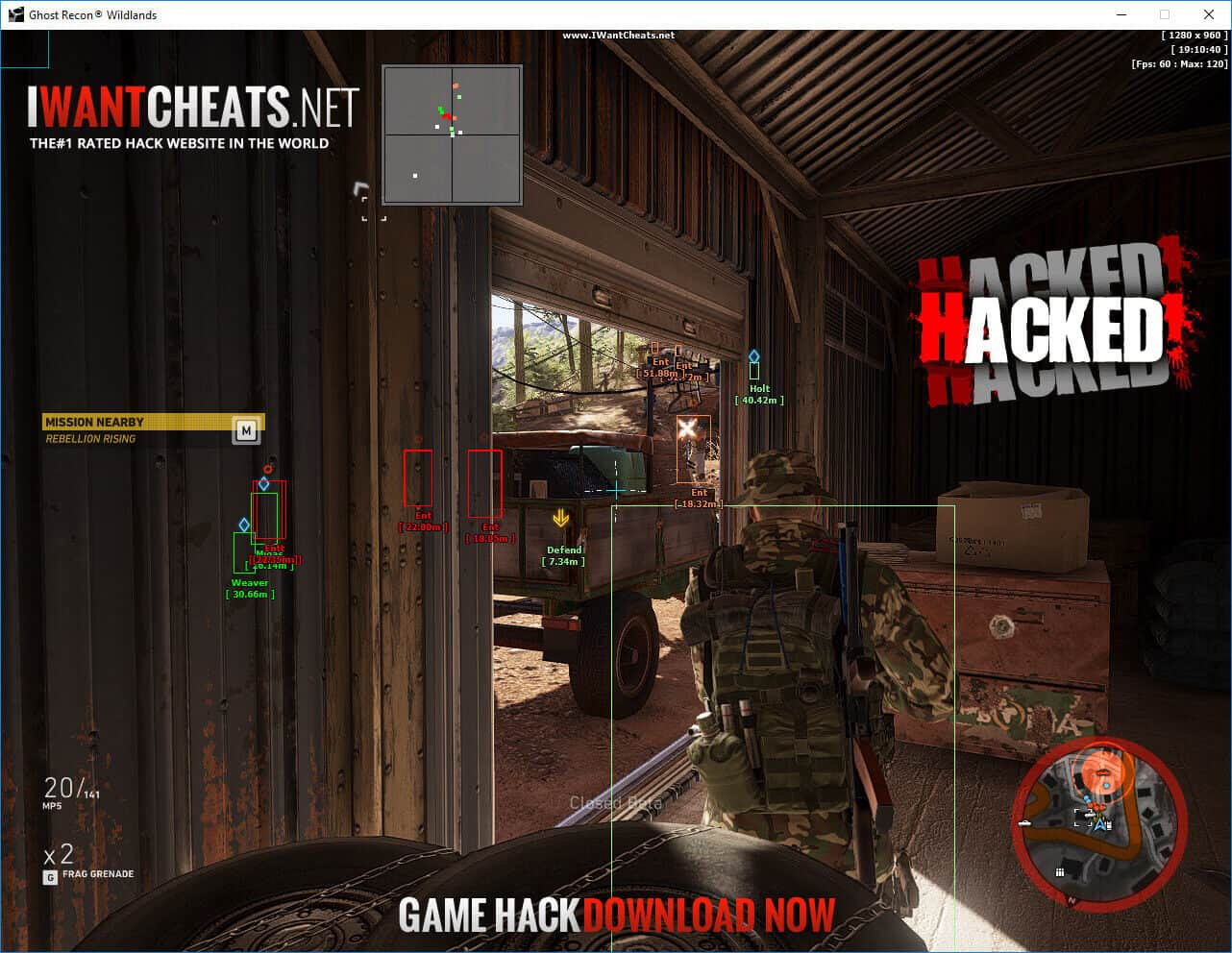 ghost recon wildlands hack esp image