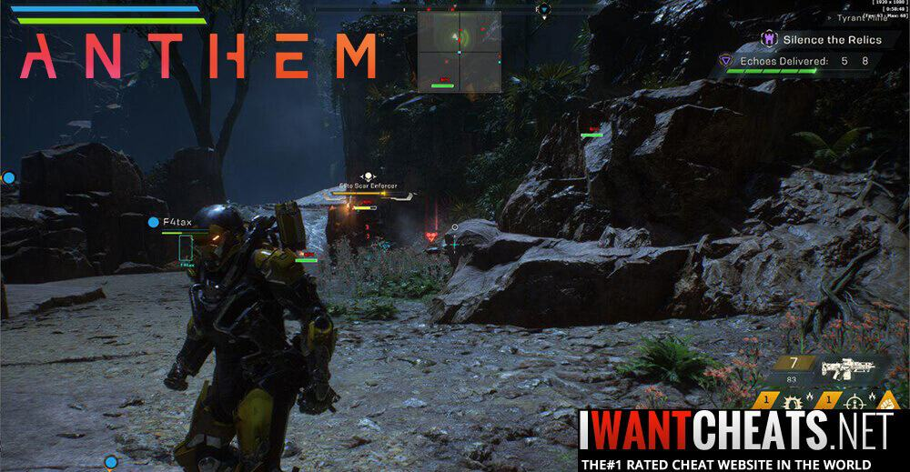 Anthem Cheats
