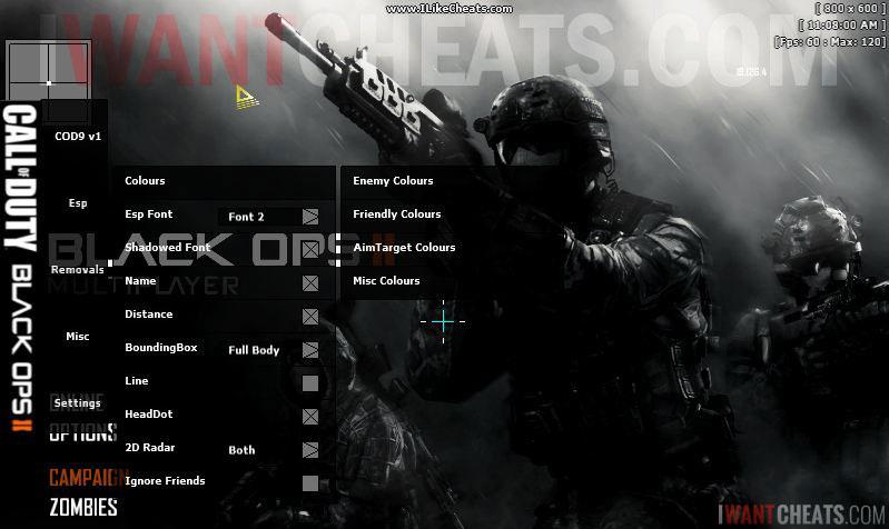 Call Of Duty Black Ops 2 Hacks Cheats Aimbot Download