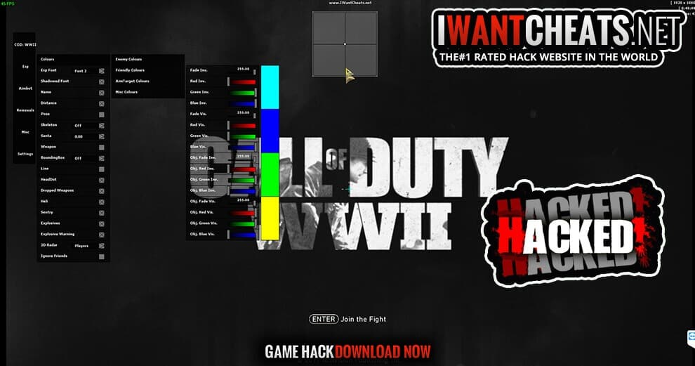 cod ww2 hacked already