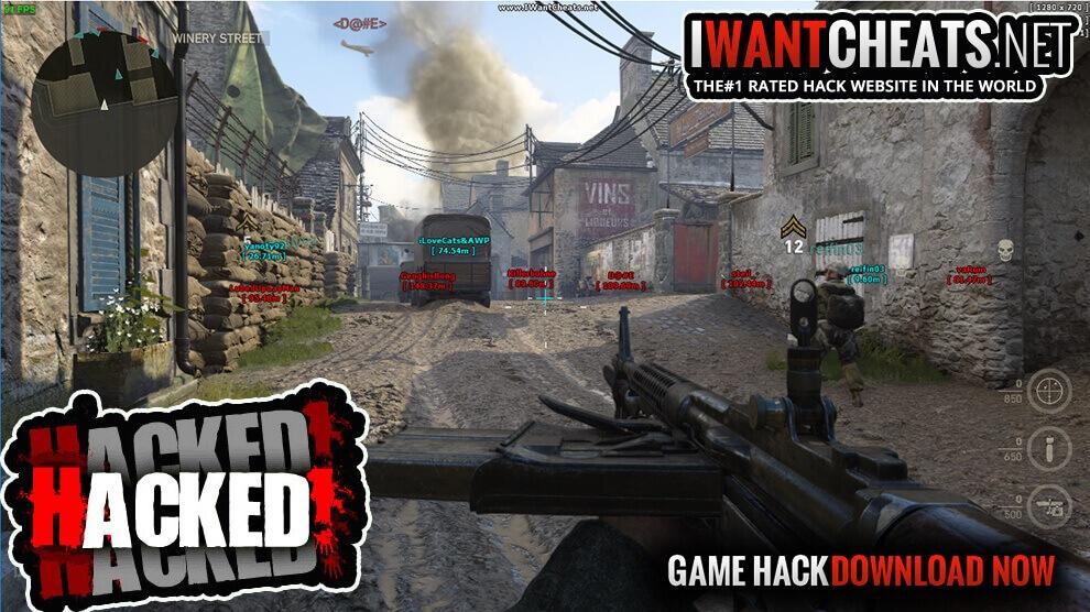 cod ww2 hackers