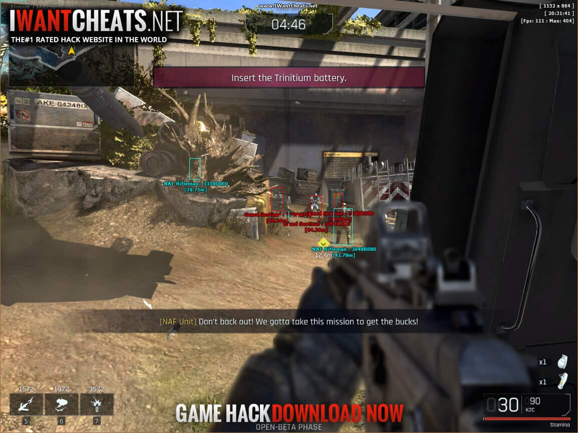 ironsight cheats