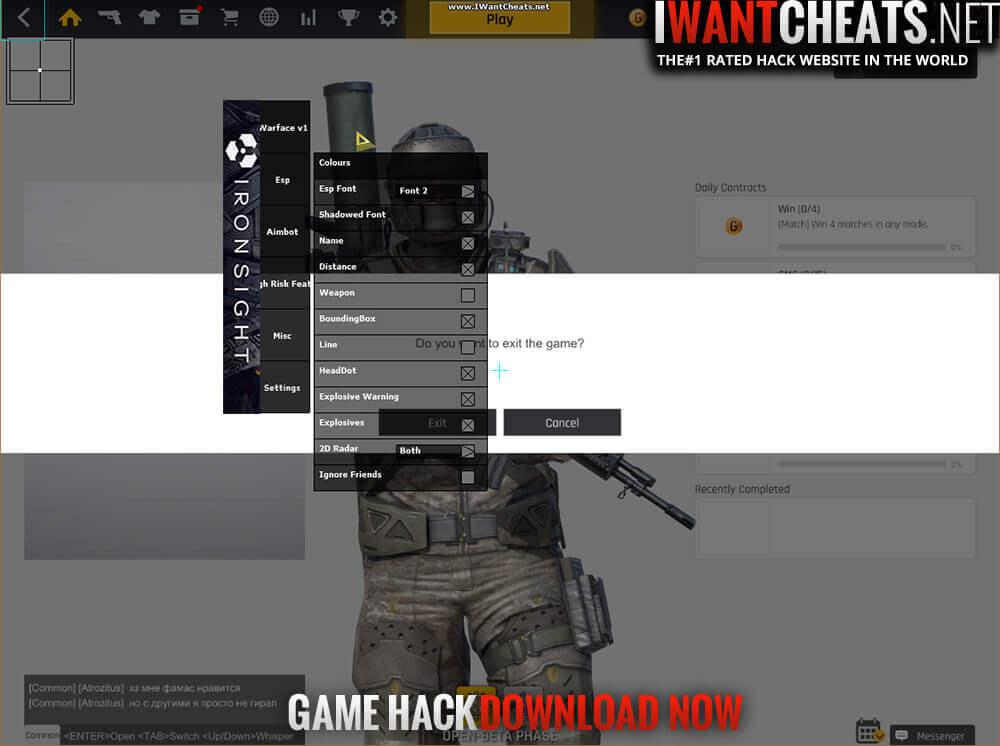 ironsight hacks
