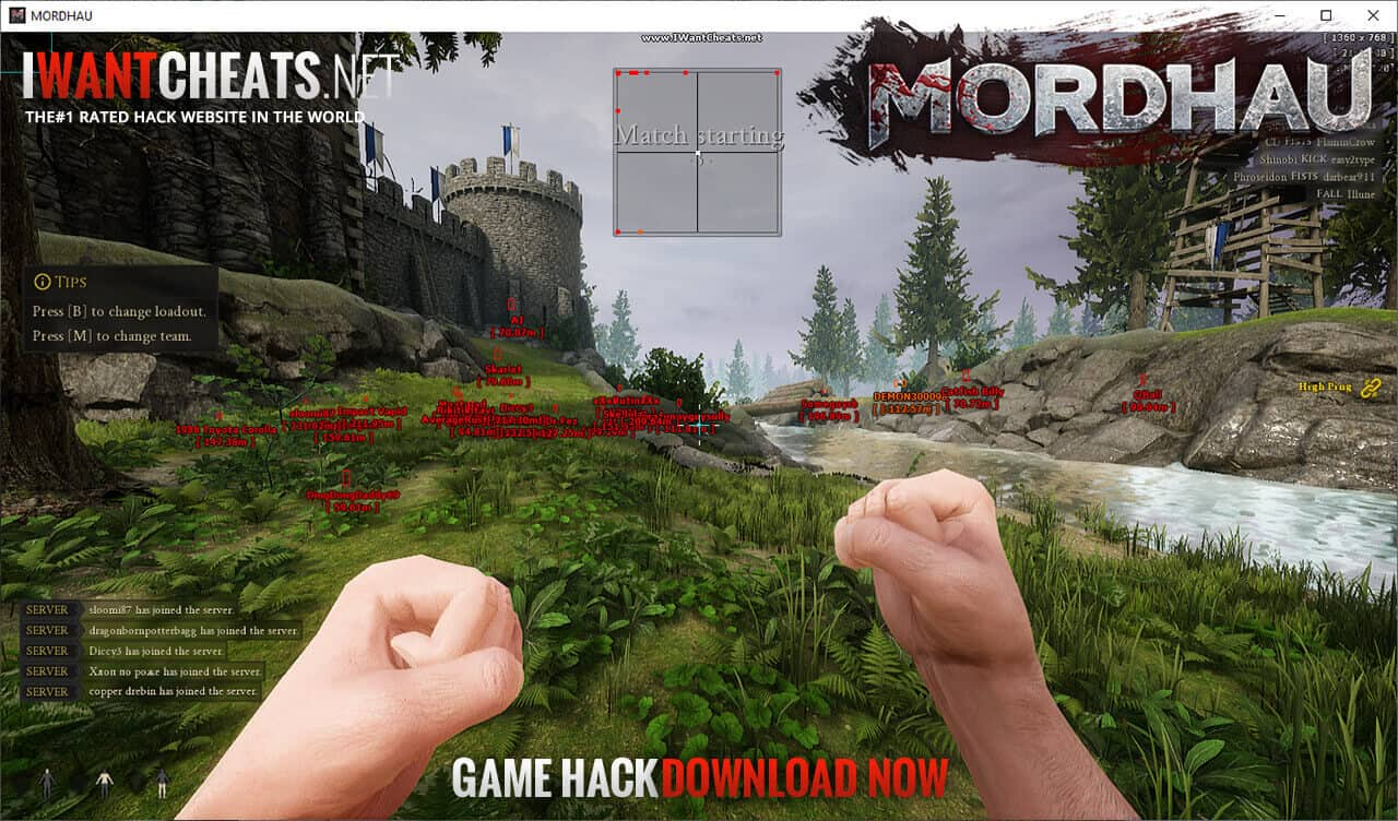 mordhau cheat